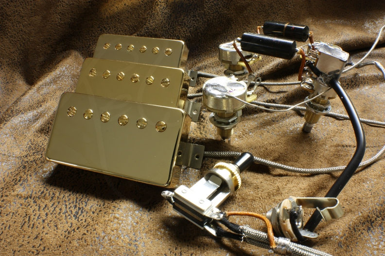 custom wiring harness pickup
