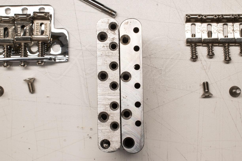 Fender Pure Vintage VS Callaham Trem Parts | My Les Paul Forum